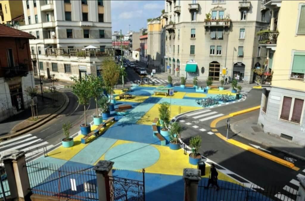 Milan open streets